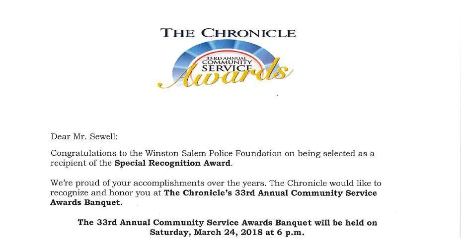 Chronicle Letter